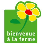 label bienvenue à la ferme